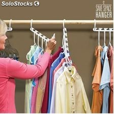 Percha Multiple Magic Hanger para Ahorrar Espacio tipo Wonder Hanger A