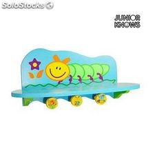 Perchero con Balda Junior Knows 7698 (46 x 26 x 5 cm) Infantil