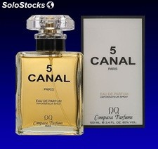 "Perfume de mujer ""Canal 5"""