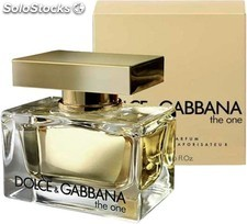 Perfume Dolce y Gabbana The One woman vapo 75 ml.