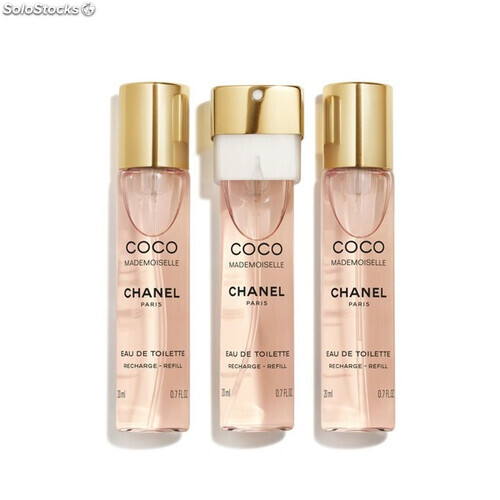 4c40d4cc9d7 Perfume Mujer Coco Mademoiselle Chanel EDT 3 x 20 ml