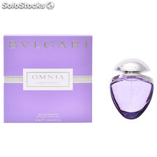 Perfume mujer omnia amethyste bvlgari edt satin pouch