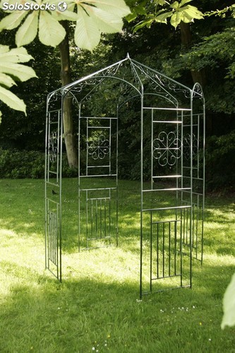 pergola para plantas trepadoras verde. Black Bedroom Furniture Sets. Home Design Ideas