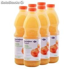 Pet 1,5L nectar orange ppblanc