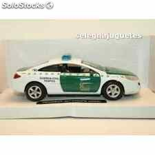 Peugeot 407 coupe 2005 guardia civil trafico escala 1/32 new ray