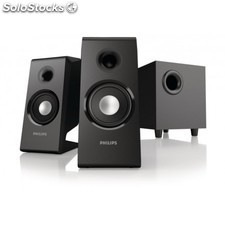 Philips - Altavoces multimedia 2.1 - 47072