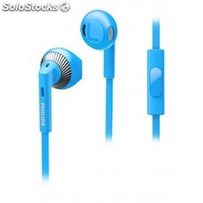 Philips - Auriculares intrauditivos SHE3205BL/00