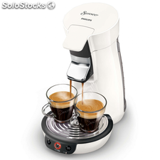 Philips Cafetera Senseo Viva Cafe 1450 W 0,9 L blanca HD7829/00