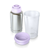 Philips Calienta biberones 500 ml acero inoxidable púrpura SCF256/00