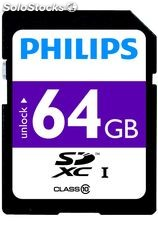 Philips carte sd 64GO-FM064SD4