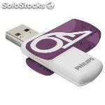 Philips memoria usb 3.0 64GB vivid edition morado FM64FD00B