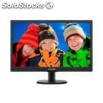 Philips monitor lcd con smartcontrol lite, 1600 x 900 pixeles, led, hd ready,