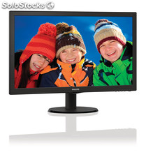 Philips monitor lcd con smartcontrol lite 243v5lhab/00