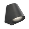 Philips myGarden Lámpara de pared LED Virga 3 W negra 172873016