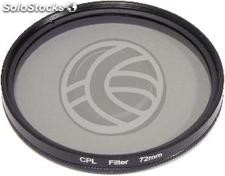 Photo CPL circular polarizing filter for 72mm lens (EF77)