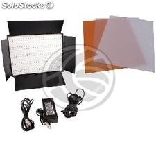 Photograph Panel 1200LED visors 72W 3200K and 5400K with DMX512 (JL16-0002)