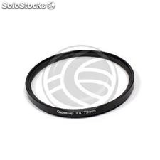 Photography +4 macro filter for 72mm lens (JM95)