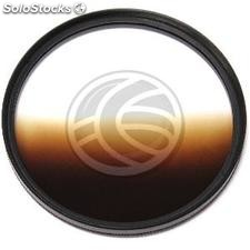 Photography brown gradient filter for 62mm lens (JN23)