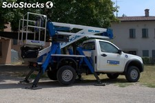 Piattaforma autocarrata forSte A314 su pick-up