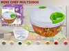 Picadora Multiusos Verduras & Fruta Mini Chef We Houseware