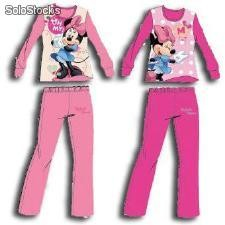 Pijama Interlock Surtido Minnie Mouse en Caja
