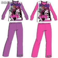 Pijama Interlock Surtido Monster High en Caja