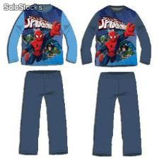 Pijama Interlock Surtido Spiderman en Caja