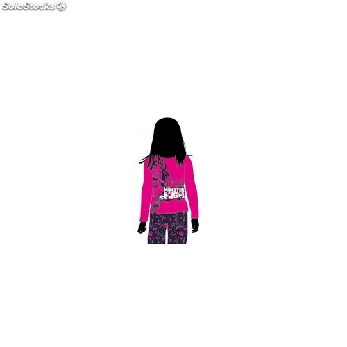 Pijama monster high scary cute talla 14