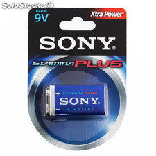 Pila Alcalina Plus Sony 6AM6 9V