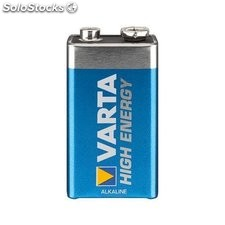pila batteria alcalina varta high energy e-block 9 v 46826