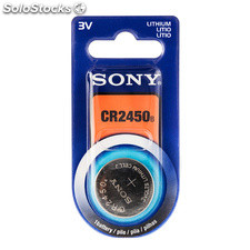 Pila de Botón de Litio Sony CR2450 3V