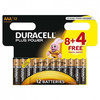 Pila Duracell Power Plus Aaa Lr03 Pack 8+4 Duracell