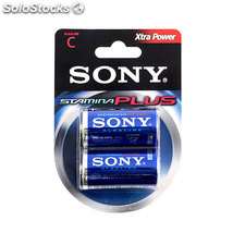 Pilas Alcalinas Xtra Power Sony C LR14 1,5V AM2 (pack de 2)