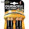 Pilas Duracell Plus Power blister 4uds 2aa