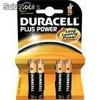 Pilas Duracell Plus Power blister 4uds 3aaa