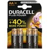 Pilas duracell plus power LR06 20x4pilas AA