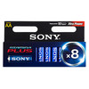 Piles Alcalines Plus Sony AA LR6 d'1,5 V AM3 (pack de 8)