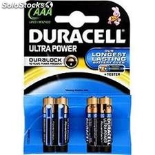 Piles duracell AAA B4 ultra power