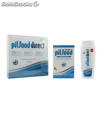 Pilfood pack intensity mujer 15 ampollas + 90 cápsulas + champú 200 ml