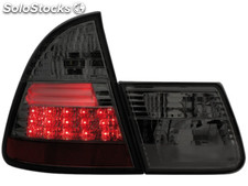Pilotos traseros led bmw E46 touring 01-05 ahumado