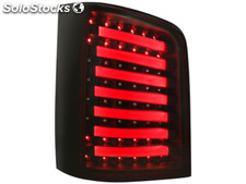Pilotos traseros led vw T5 03-12/09 intermitente led negro