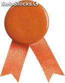 Pin laço. Orange