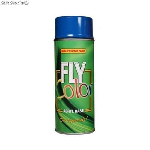 Pintura Acril Sat. 400 Ml Ral 9010 Blanco Puro Fly Color