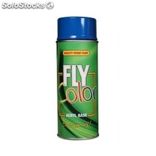 Pintura Acrilica Brillante 400 Ml Ral 7040 Gris Ventana Fly Color