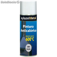 Pintura Antical.spray Gris Plt - xylazel - 6070333 - 400 ml