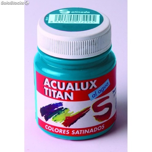 Pintura Manualid. Acril. 100 Ml Az/Mar Satin. Acualux Titan