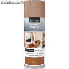 Pintura Spray Metalizada Cobre 400 Ml - xylazel