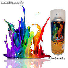 Pintura Vinilo liquido en spray de 400 ml. Color AMARILLO . RAL 1018