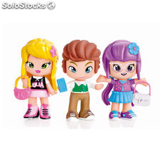 Pinypon by Piny Pack 3 Figuras Julia, Lilith y Will