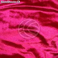 Pipe-and-drape red velvet fabric H: 2m x W: 3m (DR64)